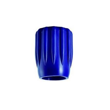 Blue rubber tank valve knob