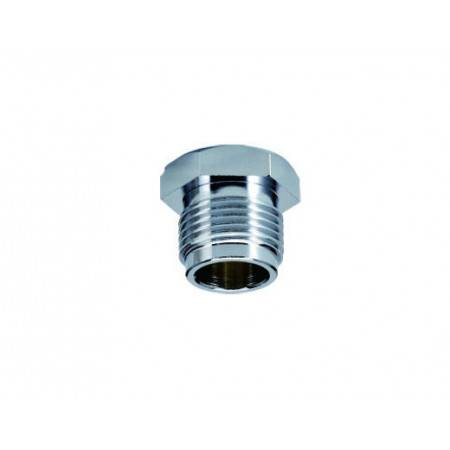 Scuba valve lock hex nut