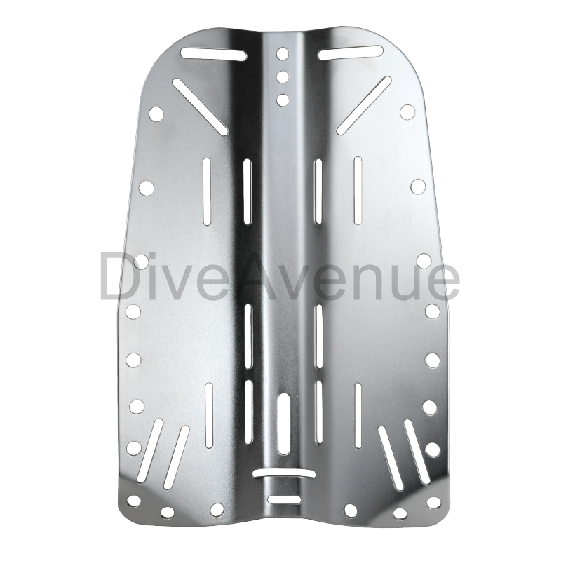 Back plate INOX 3mm