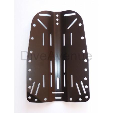 Back plate INOX 3mm noire