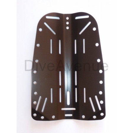 Stainless steel BACKPLATE 3mm thickness black