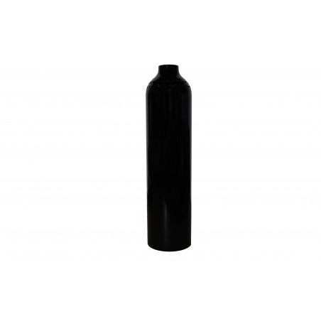 Bouteille aluminium 2 Litres 200bar nue. Noire