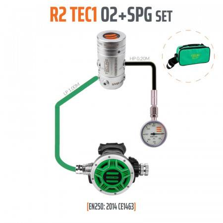 Diving regulator oxygen...