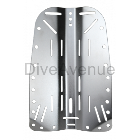 Back plate INOX 6mm