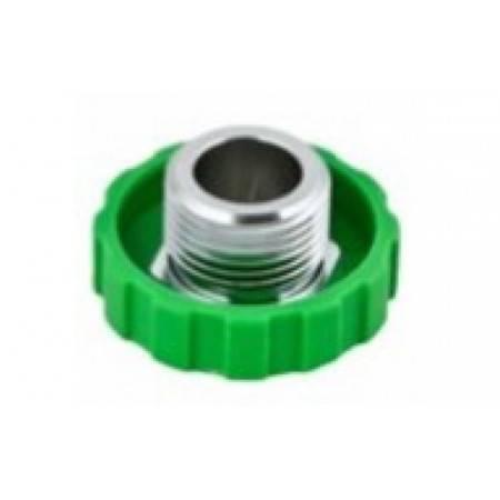 DIN Regulator wheel black/green for TECLINE regulators