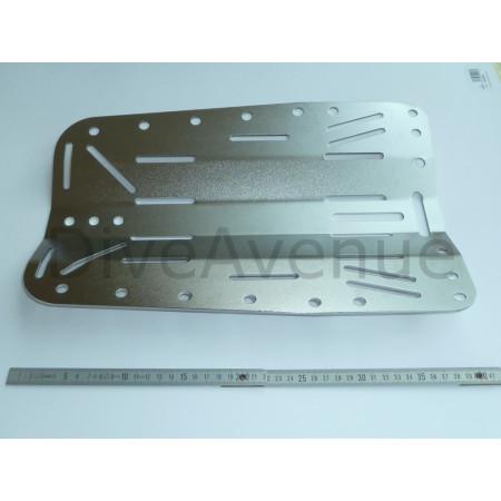 Back plate INOX plongée épaisseur 6mm