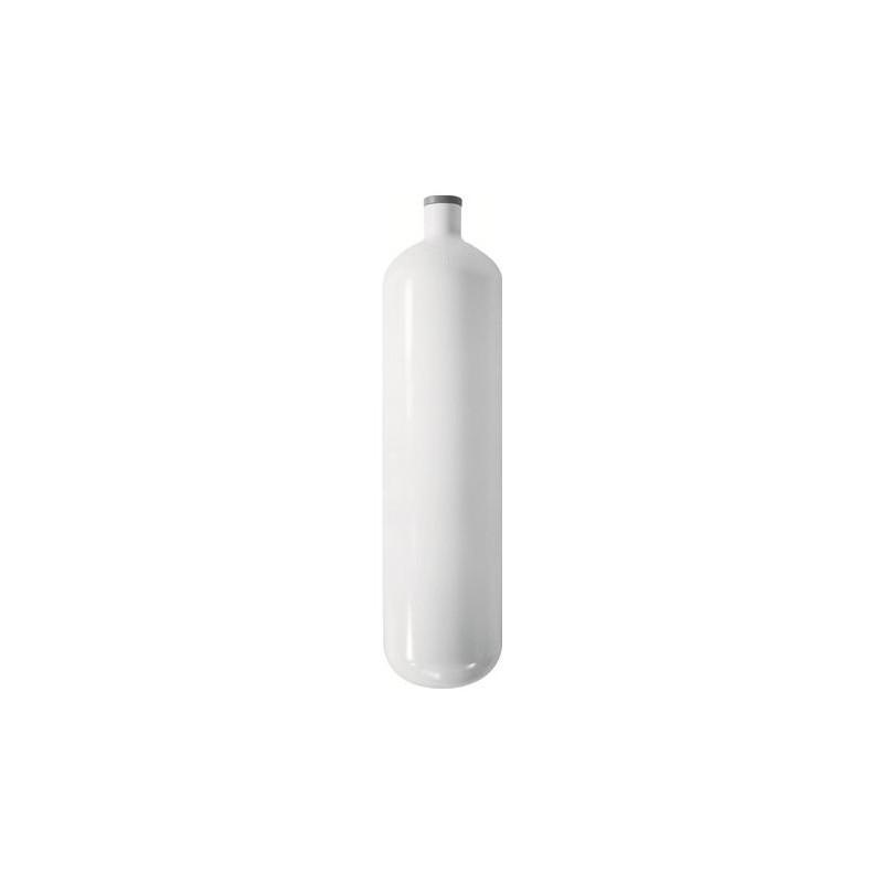 Steel diving bottle 3L 232bar short 42.5cm