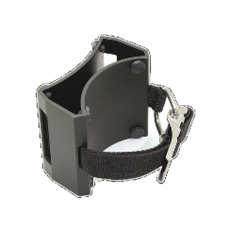 Pony bottle bracket for deco tank