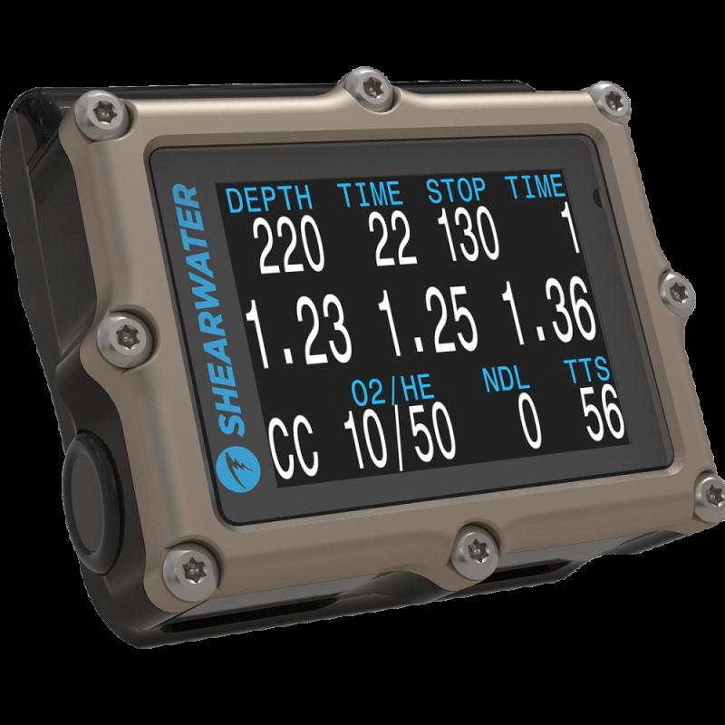 Dive computer SHEARWATER PETREL 2 TITANIUM OC CC