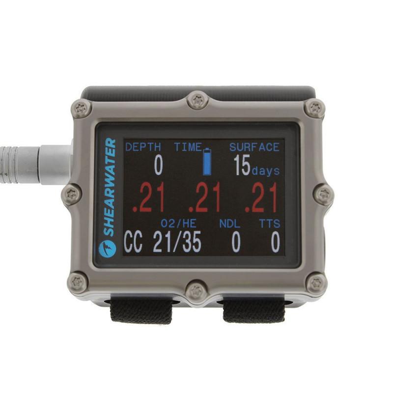 Ordinateur de plongée SHEARWATER PETREL 2 EXT TITANE