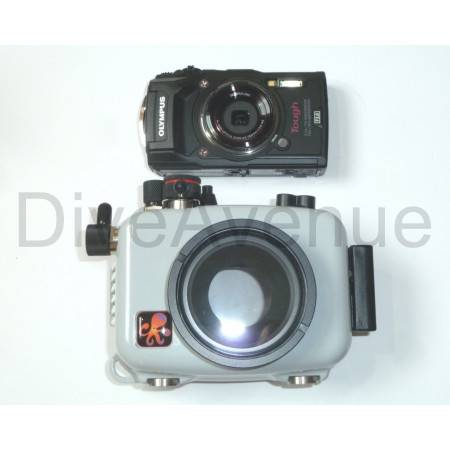 Ikelite camera housing pack + Olympus TG-6 camera