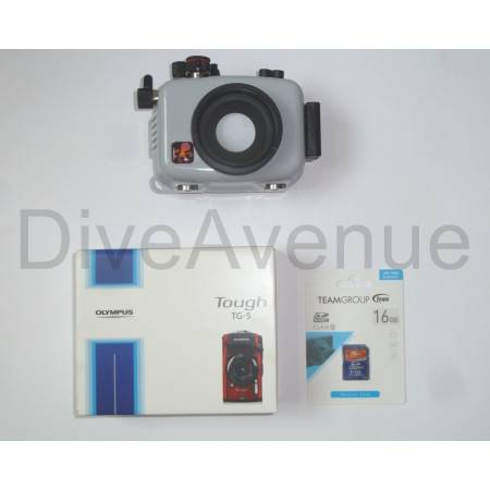 Pack caisson Ikelite + appareil photo Olympus TG-6