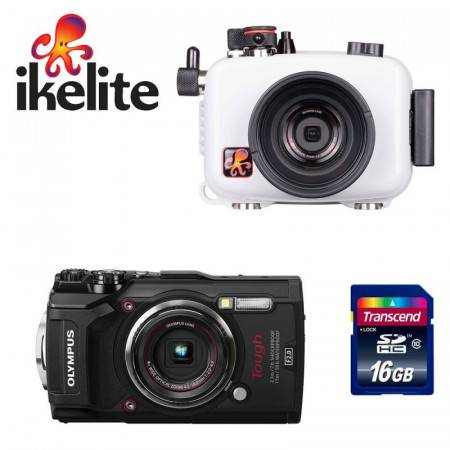 Pack caisson Ikelite + appareil photo Olympus TG-6