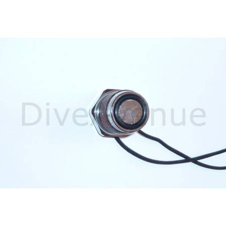 DIN male dust cap BRASS chrome plated