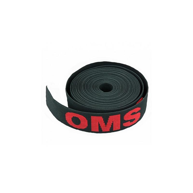 """OMS Sangle de harnais 2"""" (50mm) avec logo OMS"""