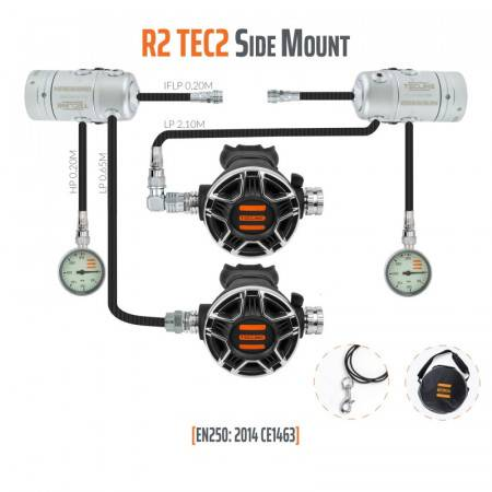 TECLINE R2 / TEC2 Pack...