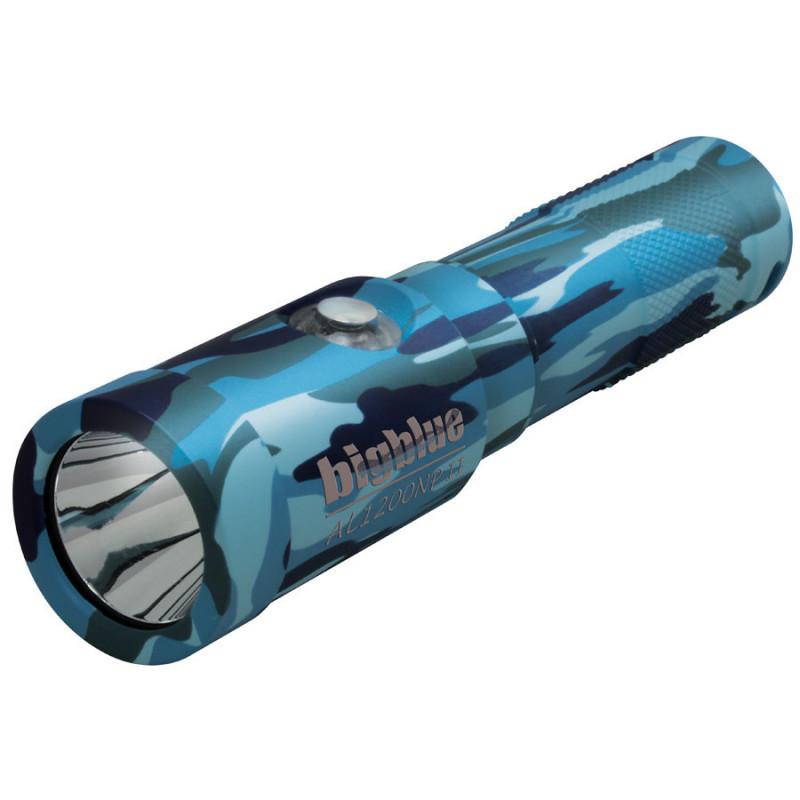 Lampe de plongée BIGBLUE AL1200NP II 10° Camo