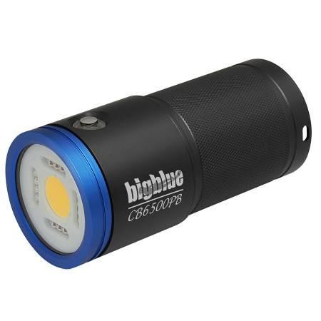 BIGBLUE CB6500PB - Underwater video light 120°beam mono LED