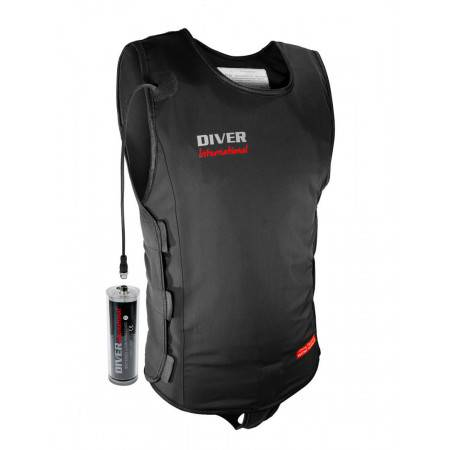 Diving heating jacket for...