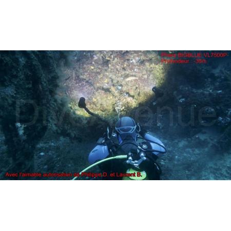 Phare BIGBLUE VL10000PRC (télécommande) - Video 120°