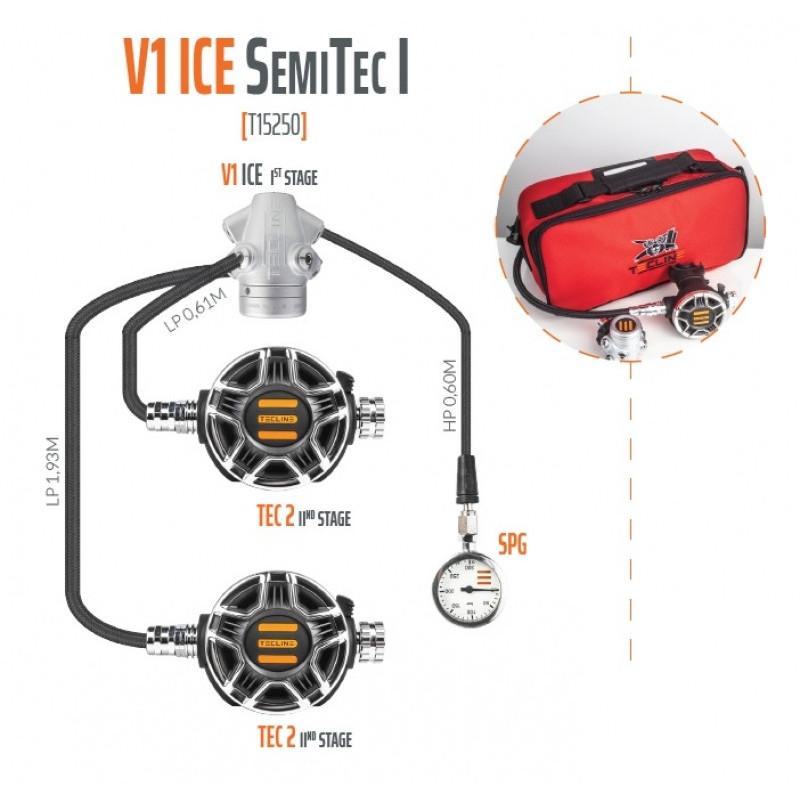 TECLINE V1 / TEC2 Regulator pack SemiTec 1- TECLINE