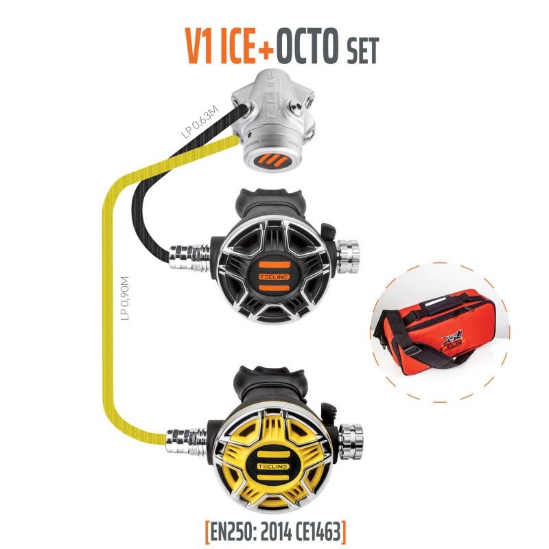 TECLINE V1 / TEC2 OCTO Regulator pack - TECLINE
