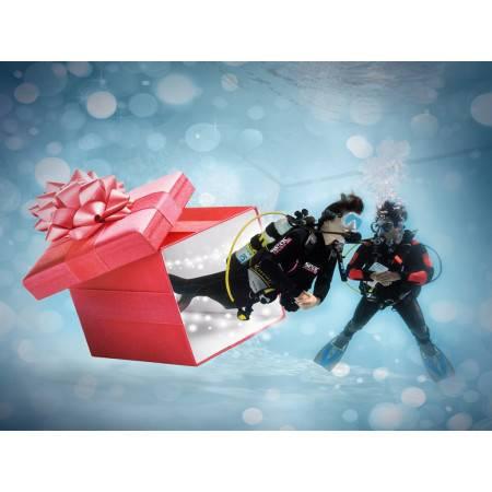 Voucher gift for diver on...