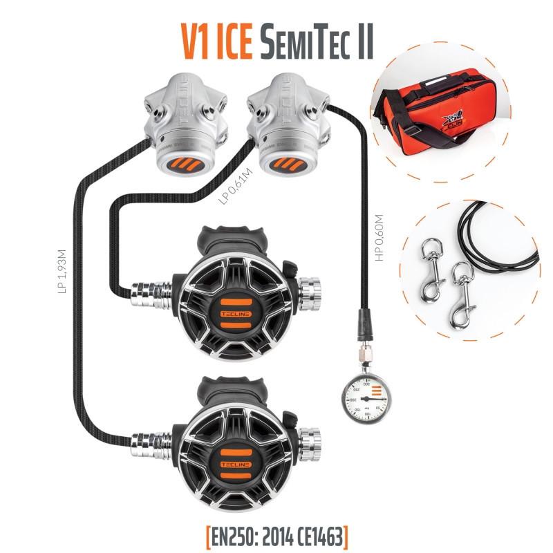 TECLINE V1 ICE / TEC2 SEMI TEC II Regulator pack - TECLINE