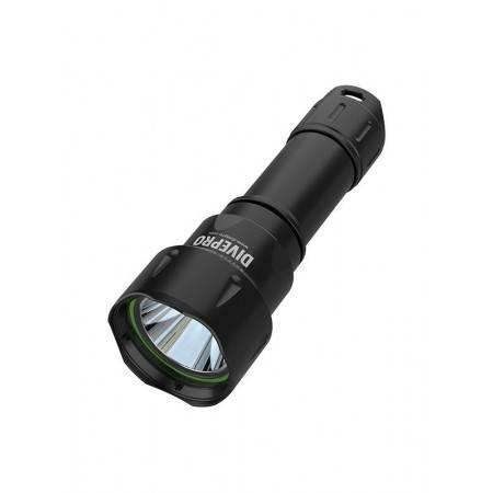 Lampe de plongée DIVEPRO D6 1050 Lm 5° - 4h autonomie