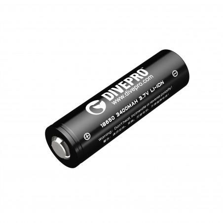 Batterie Li-ion 18650 3400mA DIVEPRO