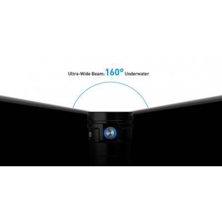 Underwater video dive light DIVEPRO VISION 8000Lm - 160°