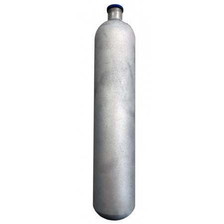 "Scuba tank 12L 200bar ""light"" steel galvanized"