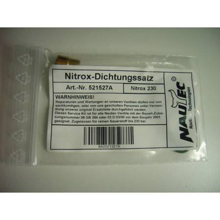 NAUTEC - Kit robinet plongée AIR NITROX 230bar et 300bar