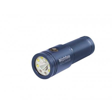Phare BIGBLUE VTL2600P BLUE - Video 10° et 120°