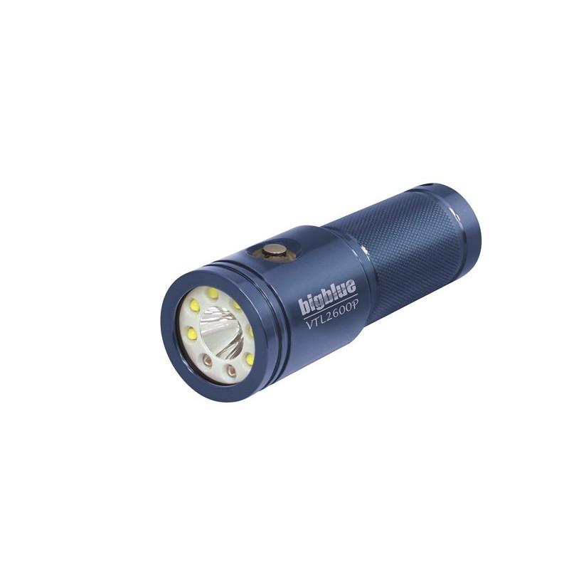 Big Blue VTL2600P Video Led light 10° and 120° beam