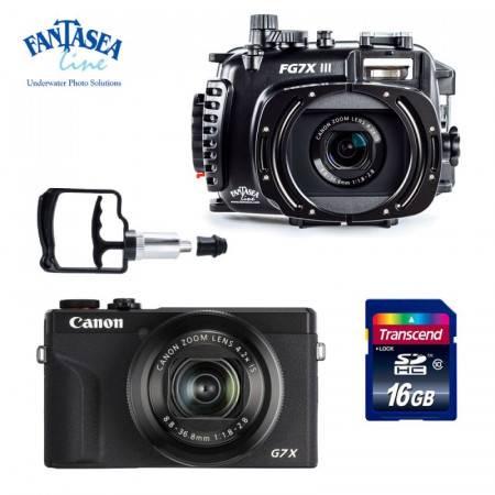 Pack caisson Fantasea Vacuum + appareil Canon G7X MK III