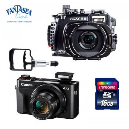 Pack caisson Fantasea Vacuum FG7X + appareil Canon G7X MK II