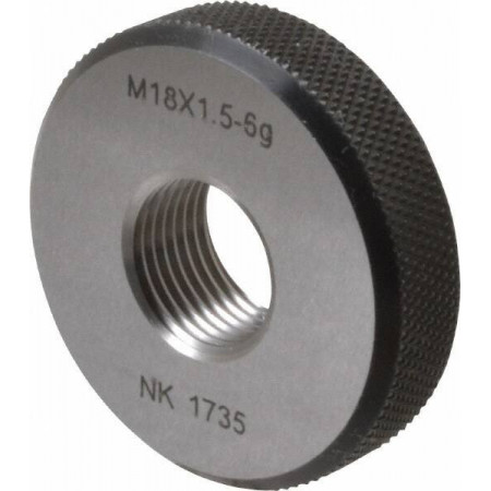 M18x1.5 No Go Single Ring...