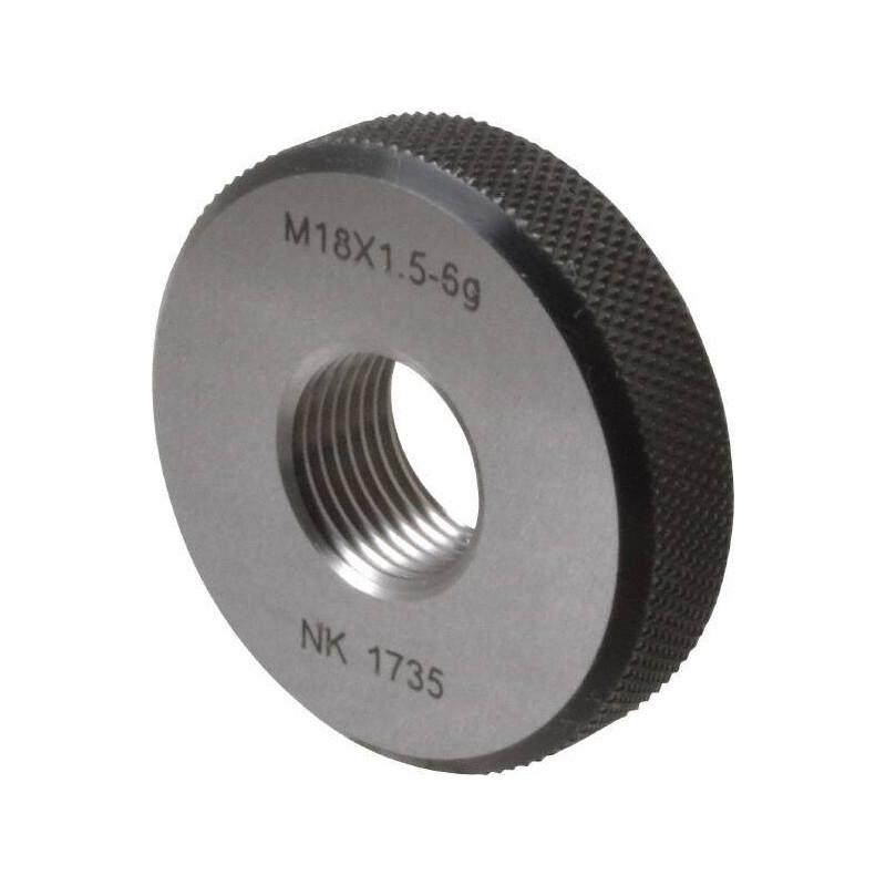 Bague filetée M18x150 6g N'ENTRE PAS pour TIV