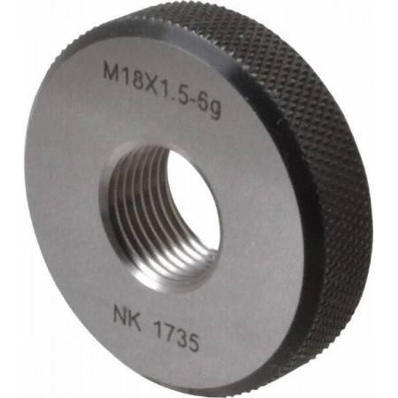 M18x1.5 GO Single Ring Thread Gage