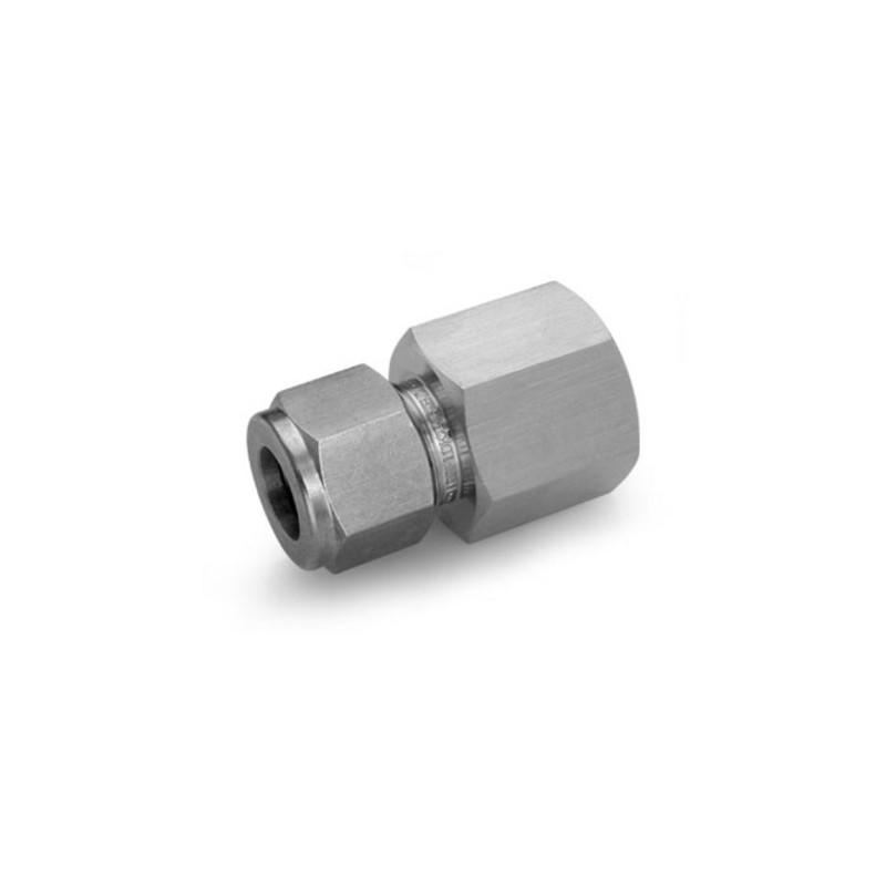 Raccord femelle INOX G1/4 pour tube de 6mm