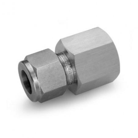 Raccord femelle INOX G1/4 pour tube de 8mm