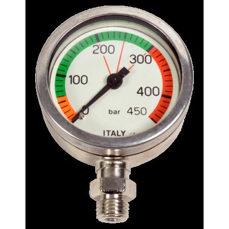 0-450bars underwater spare pressure gauge