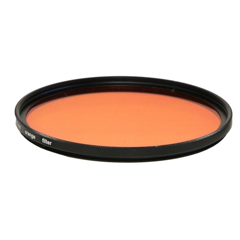 Filtre orange ou magenta à visser en M46 mâle