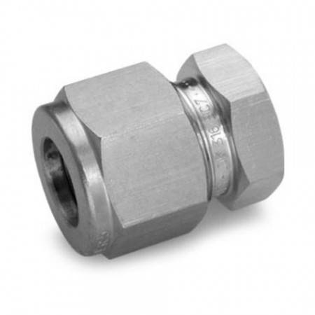 316L stainless steel plug for 8mm diameter connector