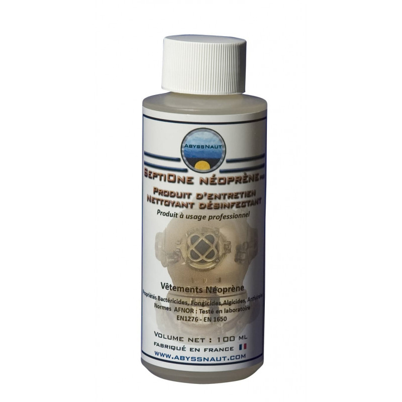 Disinfectant for neoprene suits SEPTIONE NEOPRENE ABYSSNAUT