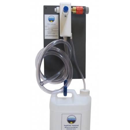 Centrale de dilution pour produits désinfectants plongée