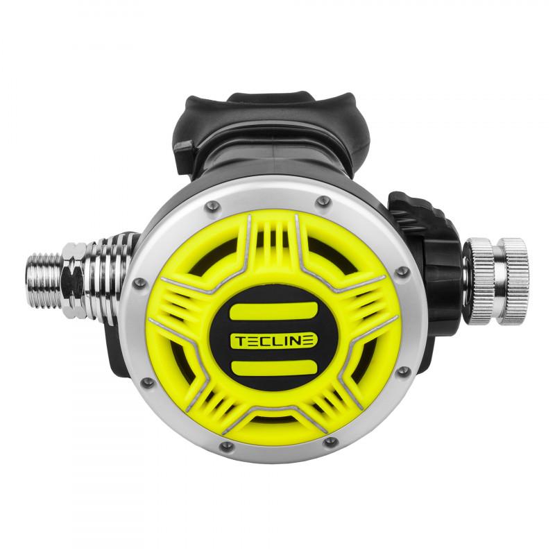 2nd stage diving regulator TEC1 Black TECLINE