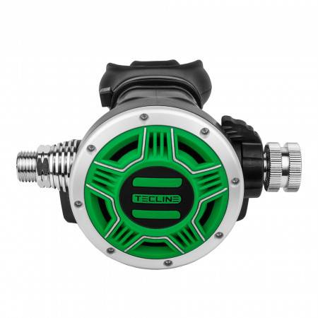 2nd stage diving regulator TEC1 OCTO Yellow TECLINE