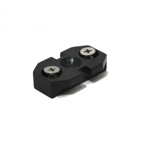 Universal T1 connector for arm or accessory